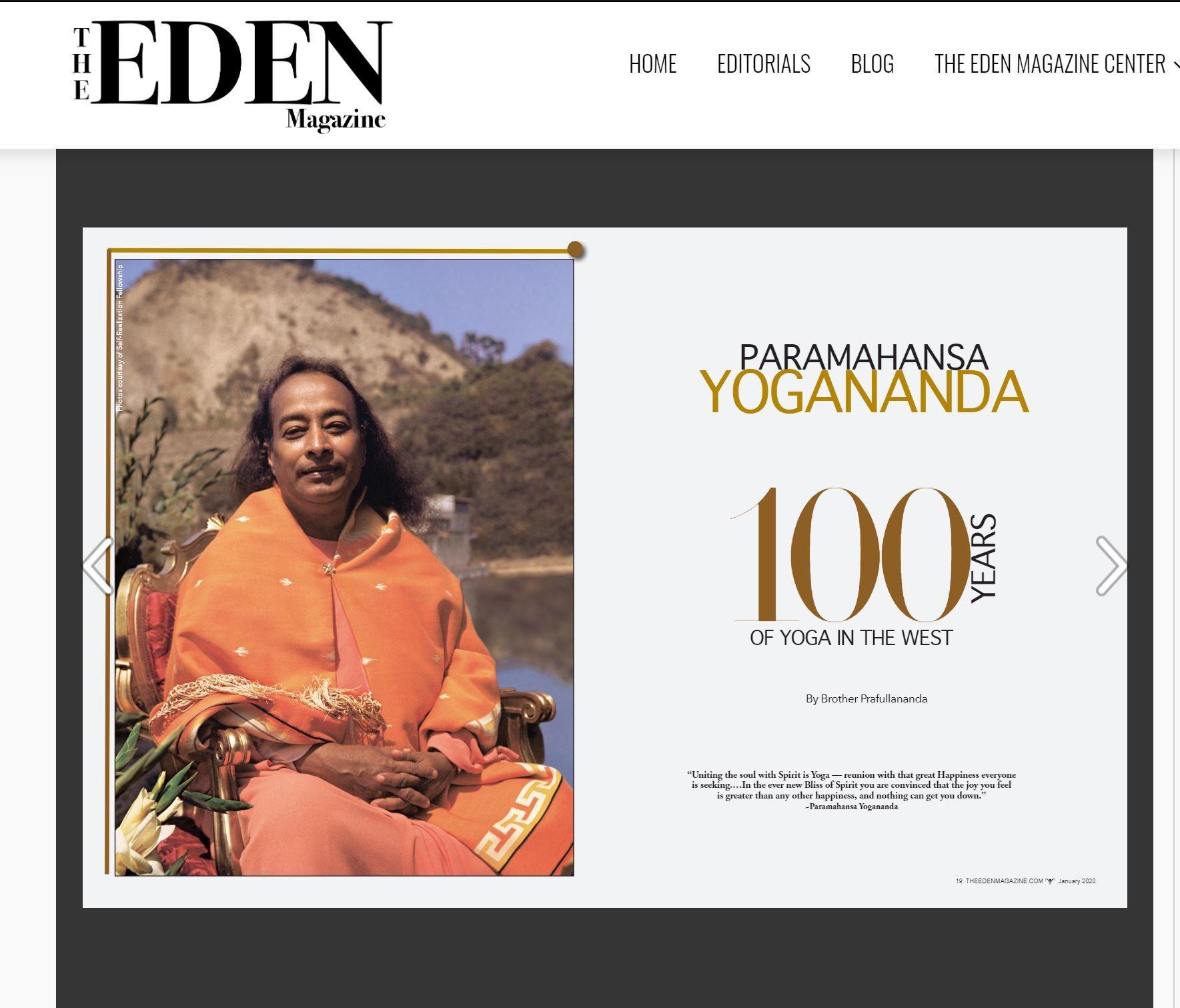 Eden Magazine January 2020