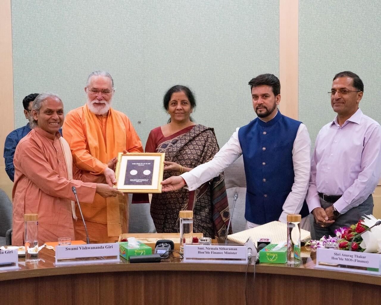 2019 Paramahansa Yogananda Coin Release Delhi