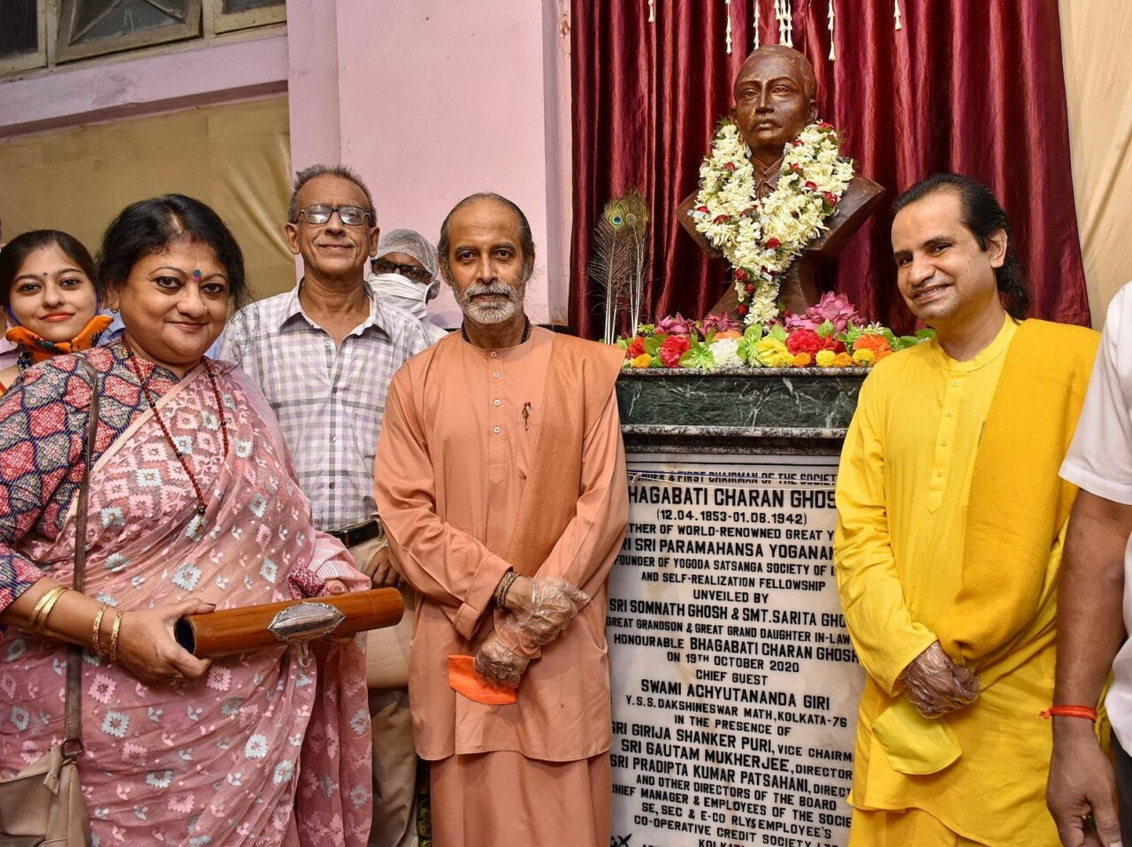 B Kolkata Institution Confers Civic Honor On Father Of Paramahansa Yogananda