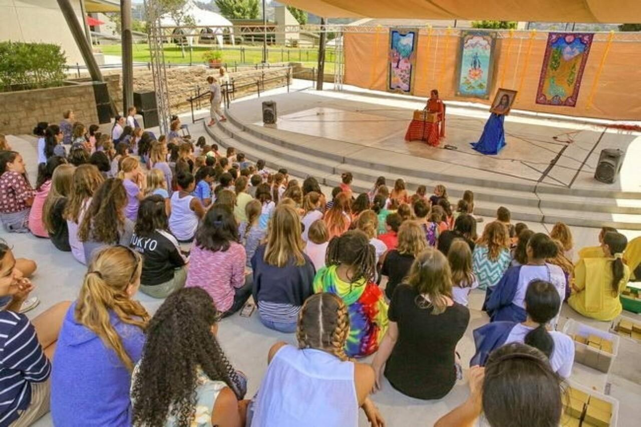 Sister Ranjana Addresses The Opening Class Girls