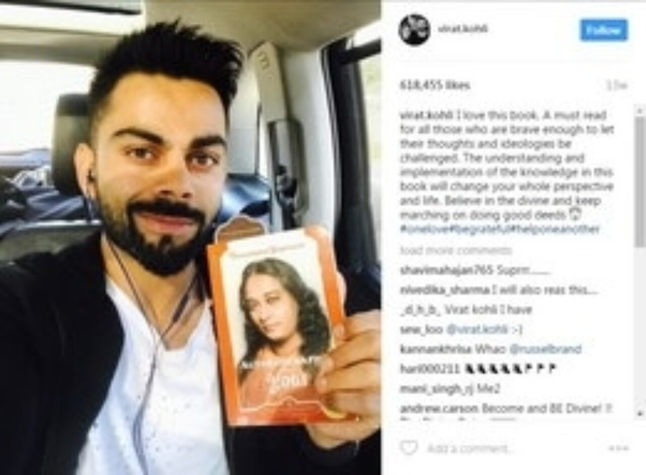 Virat Kohli and Autobiography of a Yogi