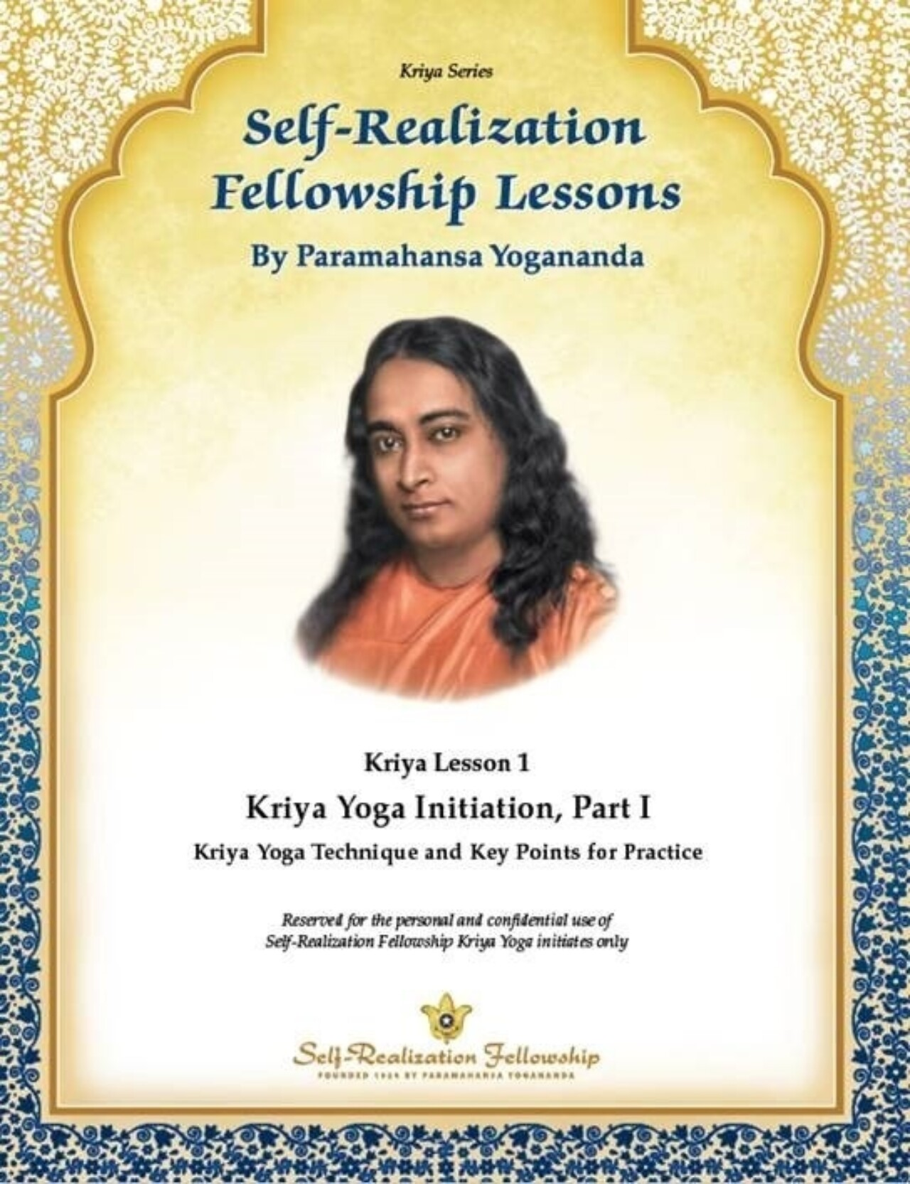 Kriya Yoga Initiation