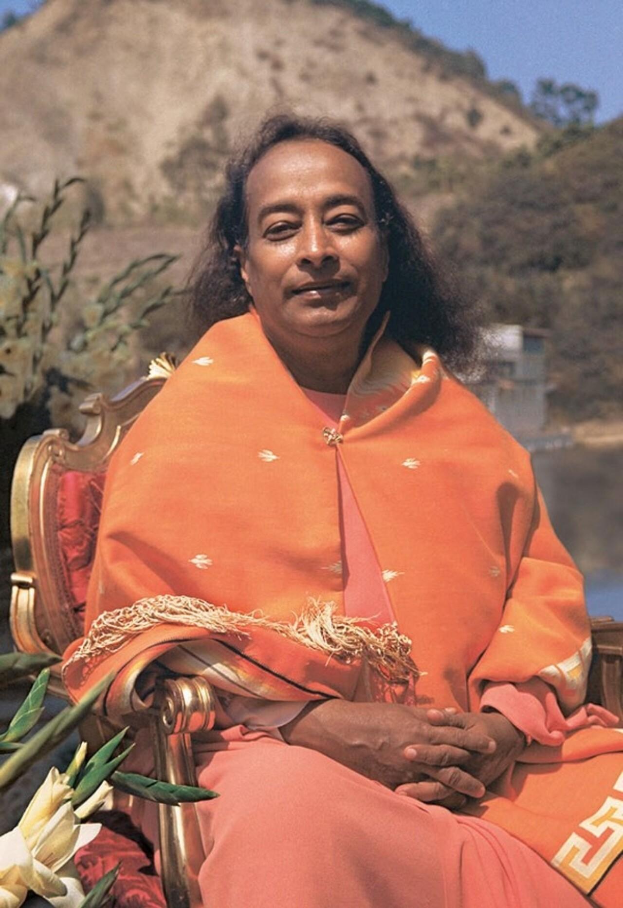 Paramahansa Yogananda At Lake Shrine