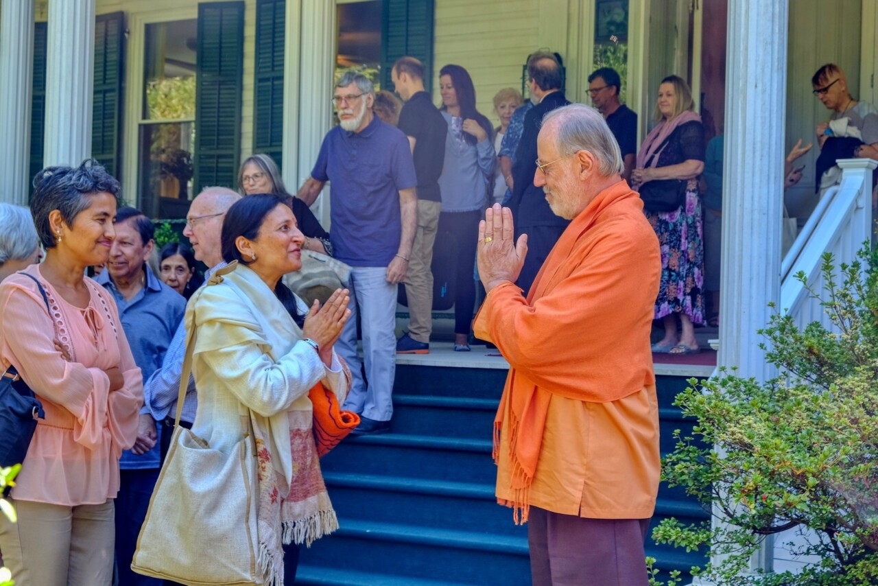 Greenfield Retreat September 2019 Brother Kalyanananda