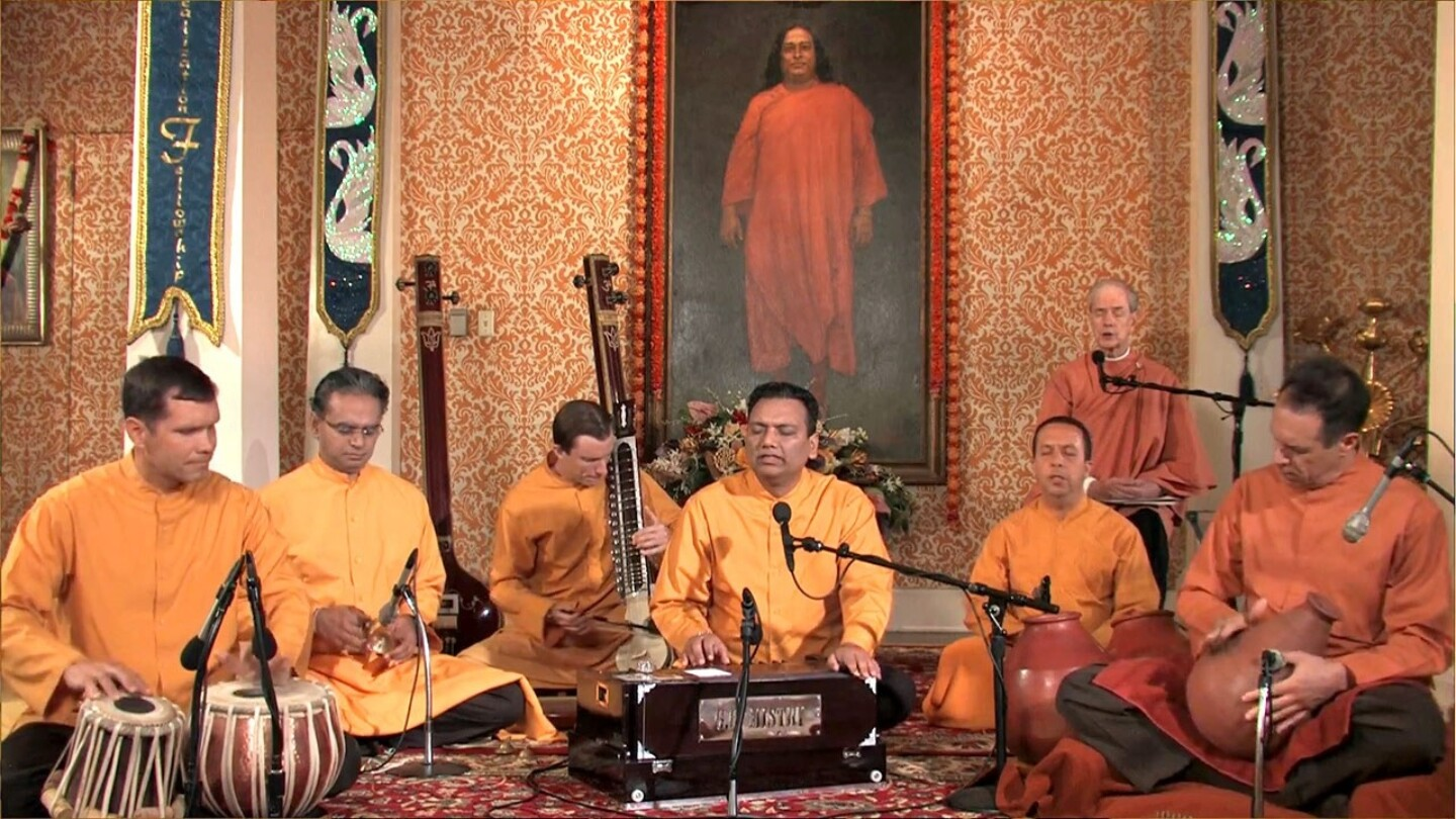 3Hr Meditation With Kirtan Led By Srf Monks Kirtan Group 1280X720