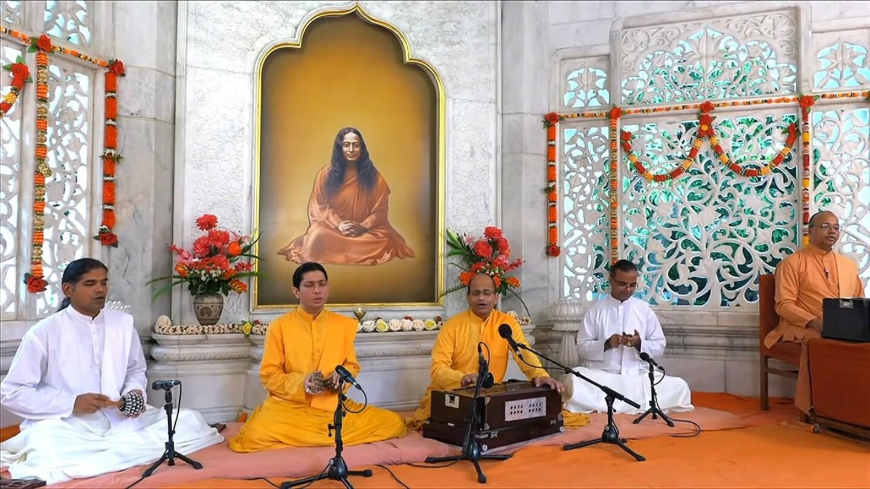 YSS Smriti Mandir Meditation With Kirtan