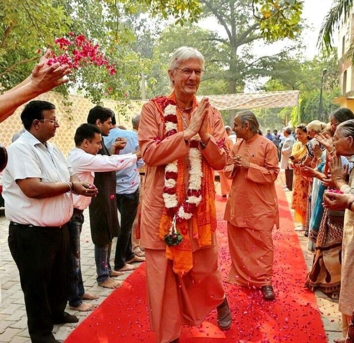 Brother Chidananda Arrival in India