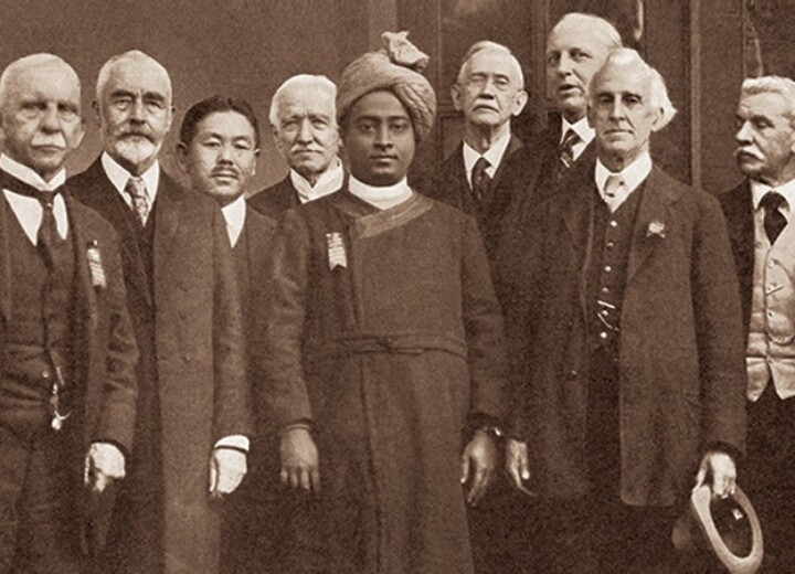 Yogananda at Congress of Religious Liberals in Boston In 1920 Blog Page
