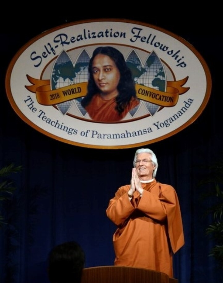 Expands Its Reach - Brother Chidananda at SRF Convocation