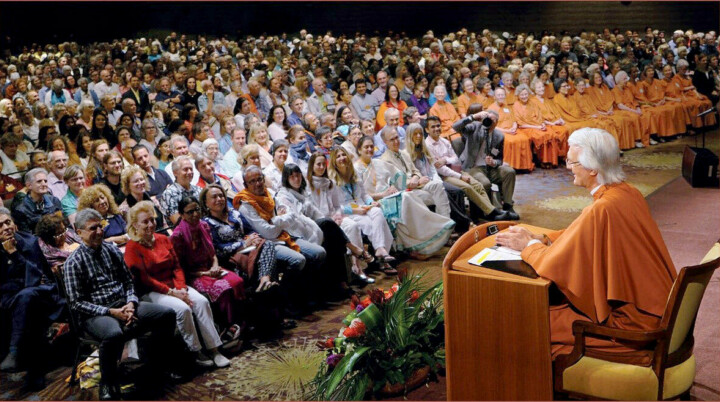 Chidananda Speaking To Convo Audience Clean